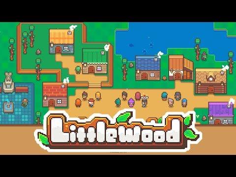 Littlewood Gameplay - Casual Town Builder RPG Sandbox (Stardew Valley SuperLite?!)