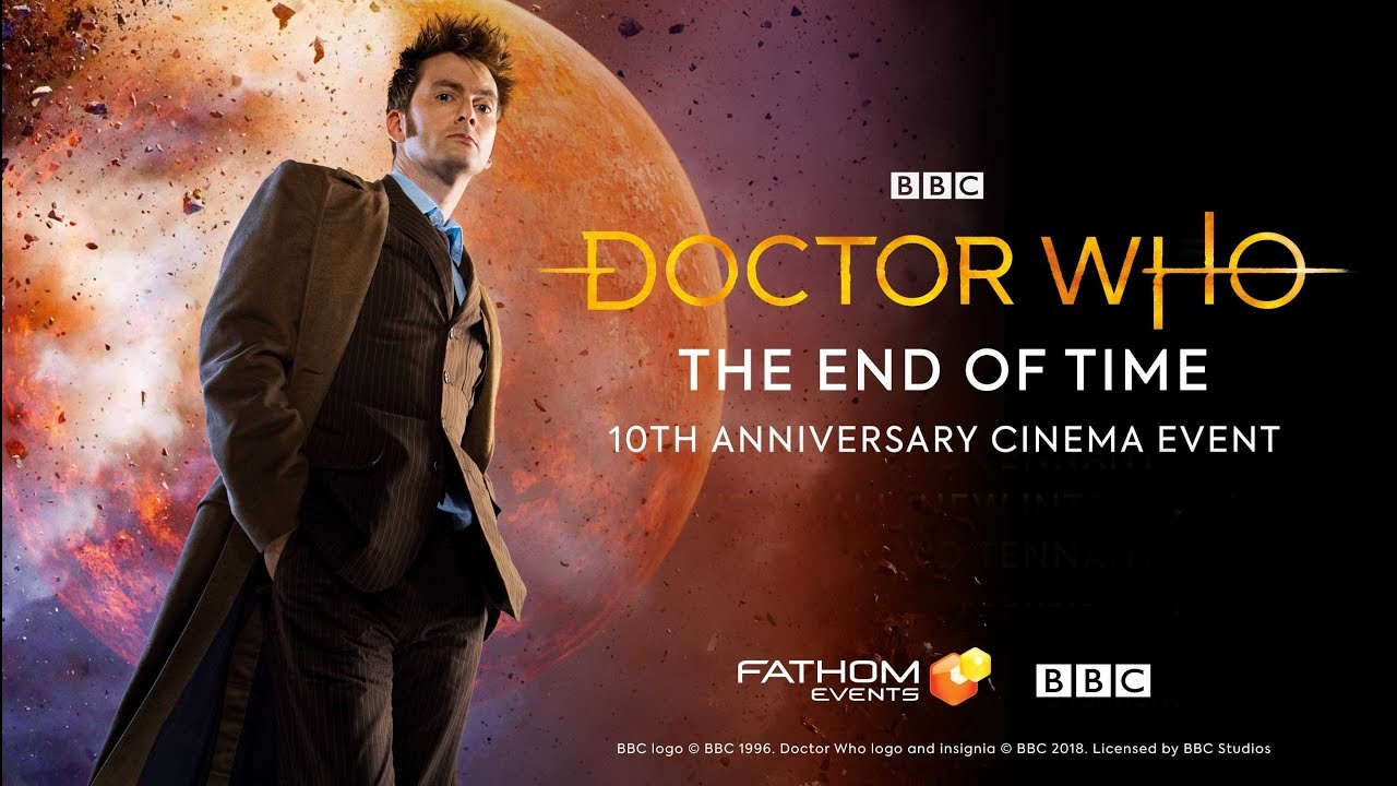 Dr Who Christmas Special 2019 Theaters Doctor Who: The End of Time 10th Anniversary | Fathom Events