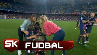 Gospođe Mesi i Suarez Slavile Titulu na Kamp Nou   SPORT KLUB Fudbal