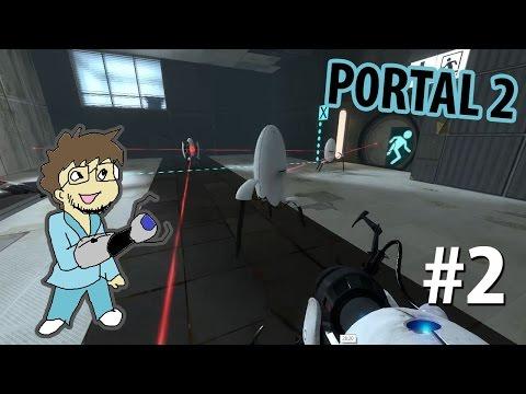 Portal 2 с Нифедычем - Часть #2 - Трудные турели