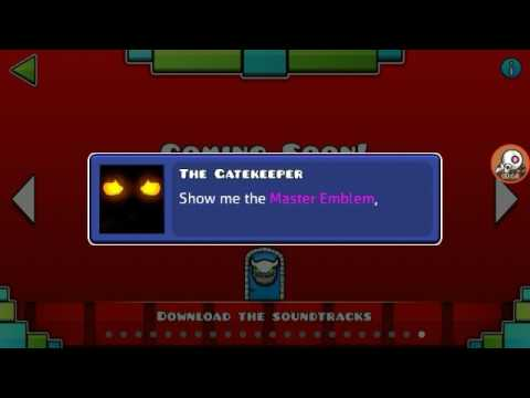 Geometry Dash (Chamber Of Time) All Codes And Master Emblem
