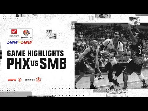 HIGHLIGHTS: San Miguel vs. Phoenix (VIDEO) Semis Game 4