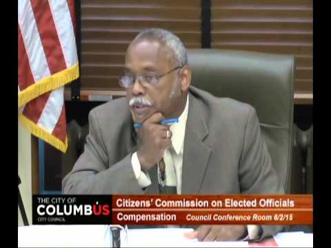 Citizen's Commission on Elected Official Compensation 6-4-15 Meeting