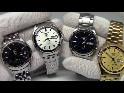 Seiko 5 Watches for every level of collector