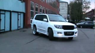 "pro-line sport - тюнинг Land Cruiser 200  ROSS Edition, колеса 23"""