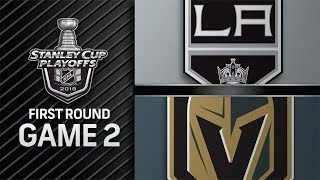 NHL 18 PS4. 2018 STANLEY CUP PLAYOFFS FIRST ROUND GAME 2 WEST. KINGS VS GOLDEN KNIGHTS. 04.13.2018 !