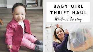 HUGE BABY GIRL THRIFT HAUL | Amazing Goodwill Finds | January 2018