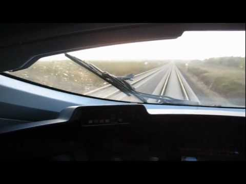 German DB ICE 3 High Speed Bullet Train 185 MPH (300 km/h) Flybys, in Cockpit, and Tunnel Video!!!