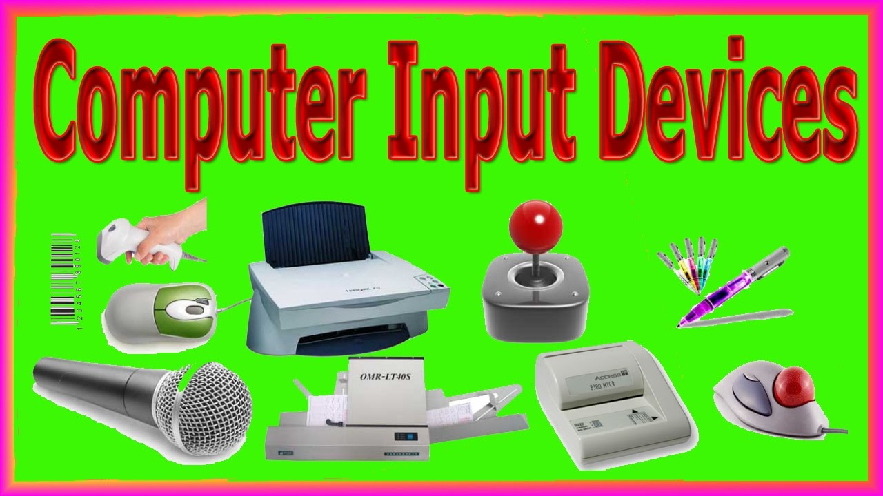 DIT / ICT /Input Devices, Keyboard,mouse,microphone Etc