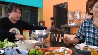 แกงปลากระบอกมื้อนี้ต้องให้เครดิตเจ้าโง่ดักปลา Tamarind Soup With Mullet From Fishing Net