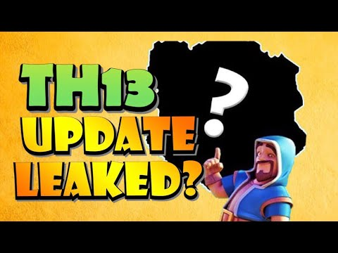 TOWN HALL 13 LEAK?! OCTOBER UPDATE NEWS For Clash Of Clans!