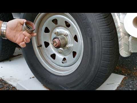 How To Grease Wheel Bearings On A Boat Trailer