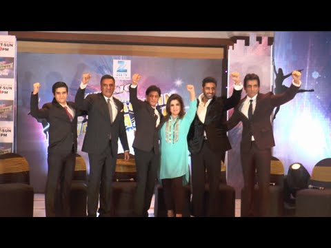 Shahrukh, Farha,& Others At Zee Tv New Show Dil Se Nachen India Wale
