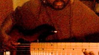6 string sx ursa playing funk with bass synth wah wah
