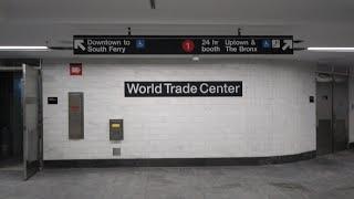 A Tour Of the Rebuilt WTC Cortlandt Station