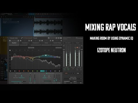 Mixing Rap Vocals to a MP3 Beat | Making room with Dynamic EQ