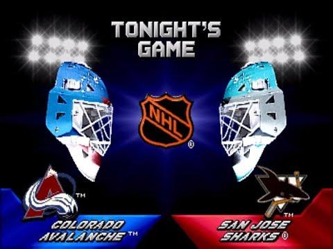 2 on 2 Open Ice Challenge ARCADE Playthrough - Colorado Avalanche vs San Jose Sharks
