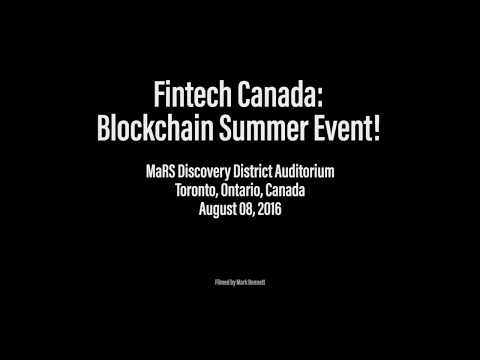 Blockchain Summer Event – Part 1 of 2