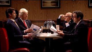 'SNL' Bids Farewell to Alec Baldwin's Donald Trump in 'Sopranos' Finale Style