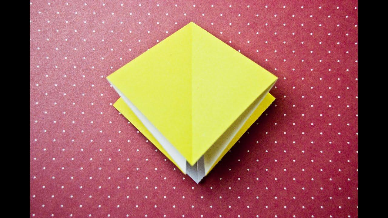 Origami Square Base Youtube