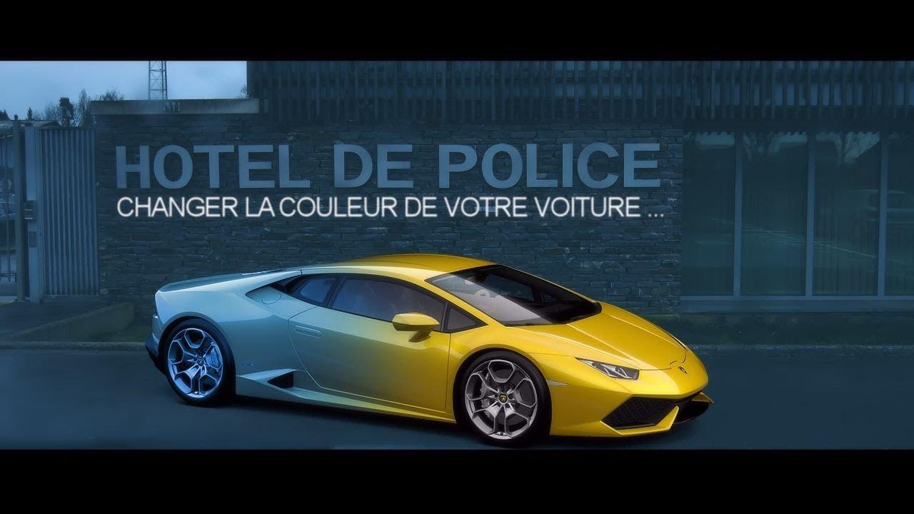 changer la couleur d 39 une voiture ce que dit la police youtube. Black Bedroom Furniture Sets. Home Design Ideas