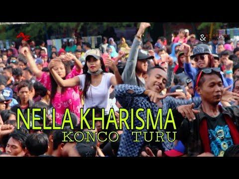 Nella kharisma - Konco turu || Lagista goyang pantai cahaya 2018.