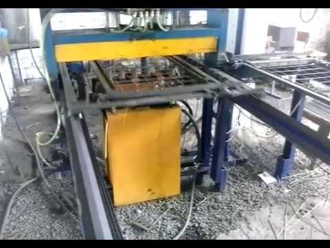 Машина для сварки арматурной сетки MTM_1000_4.aviиз YouTube · Длительность: 51 с