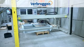 Palletizing | Automatic Palletizer machine  VPM-5 by Verbruggen | Palletizing robot
