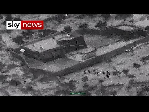 US military releases al Baghdadi raid video