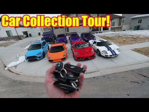 FULL TOUR OF MY SUPERCAR COLLECTION!!!