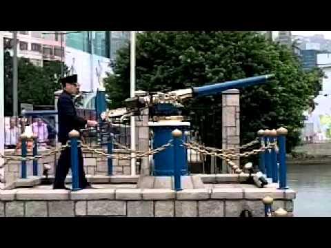Firing the Hong Kong Noonday Gun