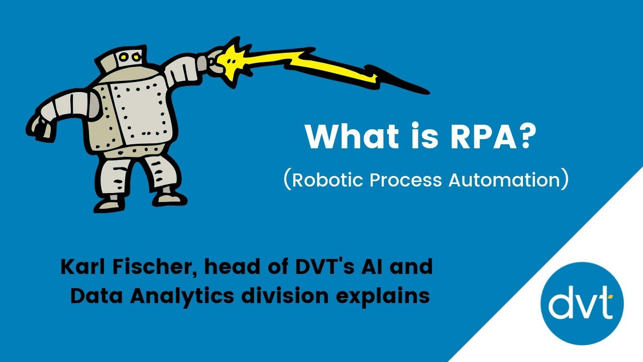 What is RPA? (Robotic Processs Automation)