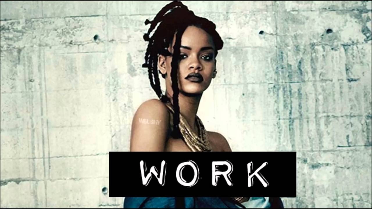 youtube rihanna work clean version