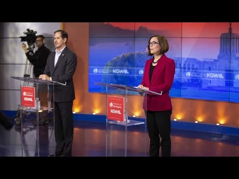 Full debate: Brown, Buehler in final debate for Oregon governor