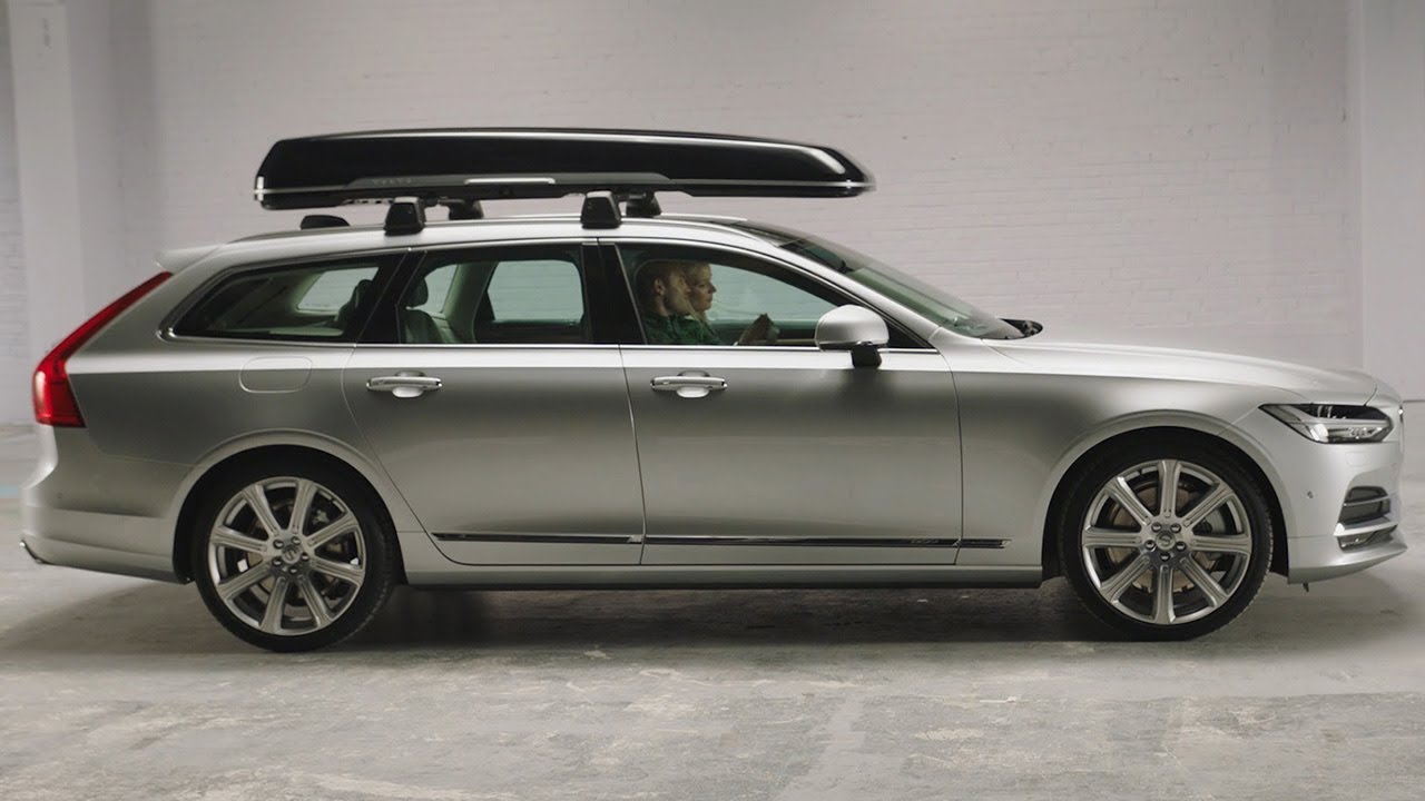 V90 Roof Box By Volvo Youtube