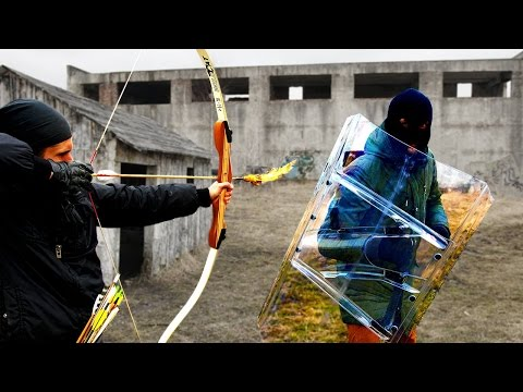 Projectile Weapons vs The Police Riot Shield (Will it Survive?)