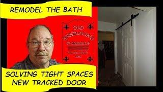 BARN DOOR UNDER $100.00 ~ MOUNTING THE HANGERS ON A HOLLOW DOOR