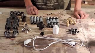 мастер-класс по изготовлению настольной лампы ручной работы