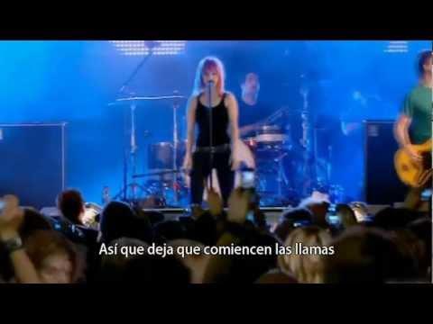 Paramore - Let The Flames Begin HD (Sub Esp)