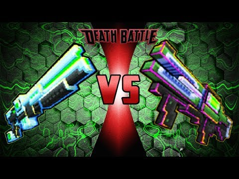 Block City Wars - Plasma Shotgun VS Plasma Gun