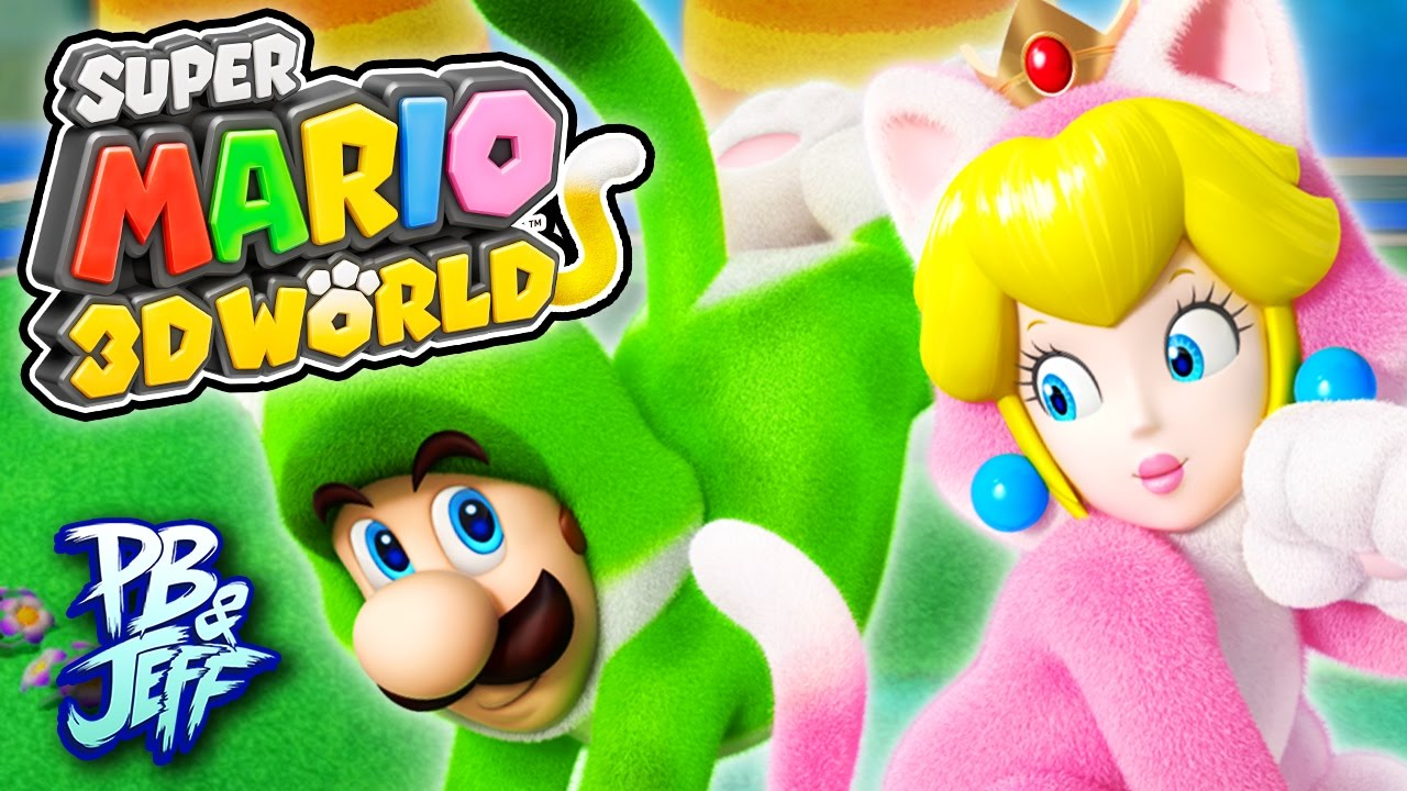 Download WE'RE CATS! - Super Mario 3D World | Wii U (Part 1)