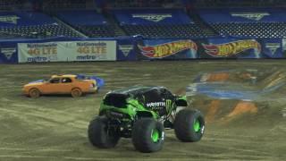 Monster Jam in San Diego Highlights   FS1 Championship Series West   Jan 21, 2017