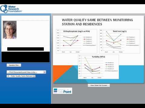 Distribution System Water Quality Control Demonstration