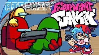 Friday Night Funkin' - VS Impostor V4 Leaked Song (Double Trouble) (Among Us Leaks)