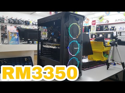 WHAT CAN BUILD WITH RM3350 GAMING PC MAY 2018 (I5 8400 GTX1060 6GB GDDR5)