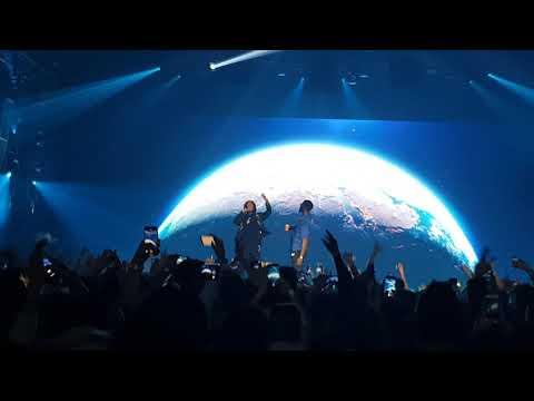 Damso x Kalash - Mwaka moon (Live Bercy 04 12 2018)