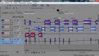 Mezclando Salsa en el Sony Vegas 9 Dj Edixon Salave