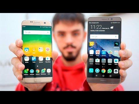 Galaxy S7 Edge vs Huawei Mate 9, ¿quién es el rey phablet Android?