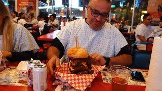 Bypass Burger 9982 Calories - Heart Attack Grill Las Vegas