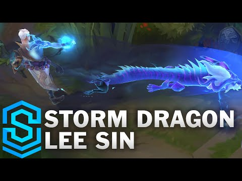 Storm Dragon Lee Sin Skin Spotlight - Pre-Release - League of Legends